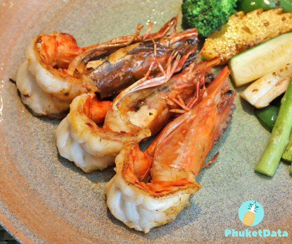 Teppanyaki at Ariake Restaurant Le Meridien Phuket