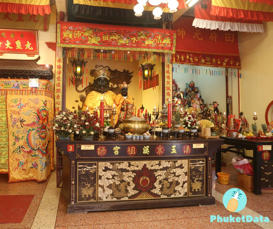 Phuket 9 shrines worship-tour / 99 baht