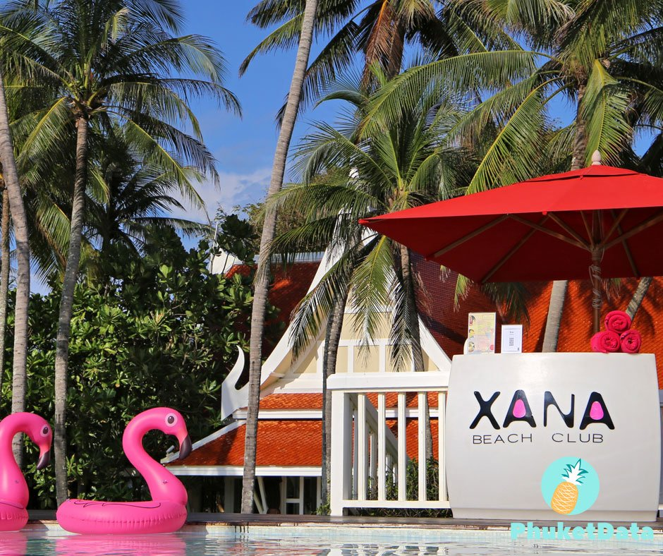 XANA Beach Club, the ultimate chill out on Bang Tao Beach, Phuket
