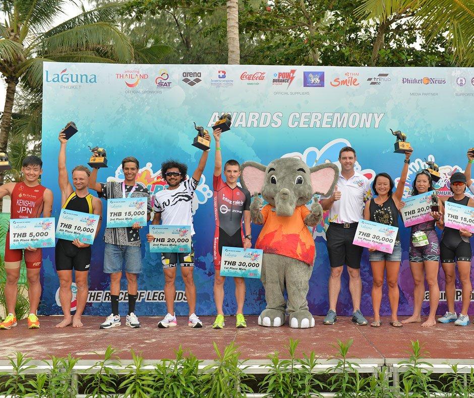 International Duo Stride to Success at the 27th Laguna Phuket Triathlon