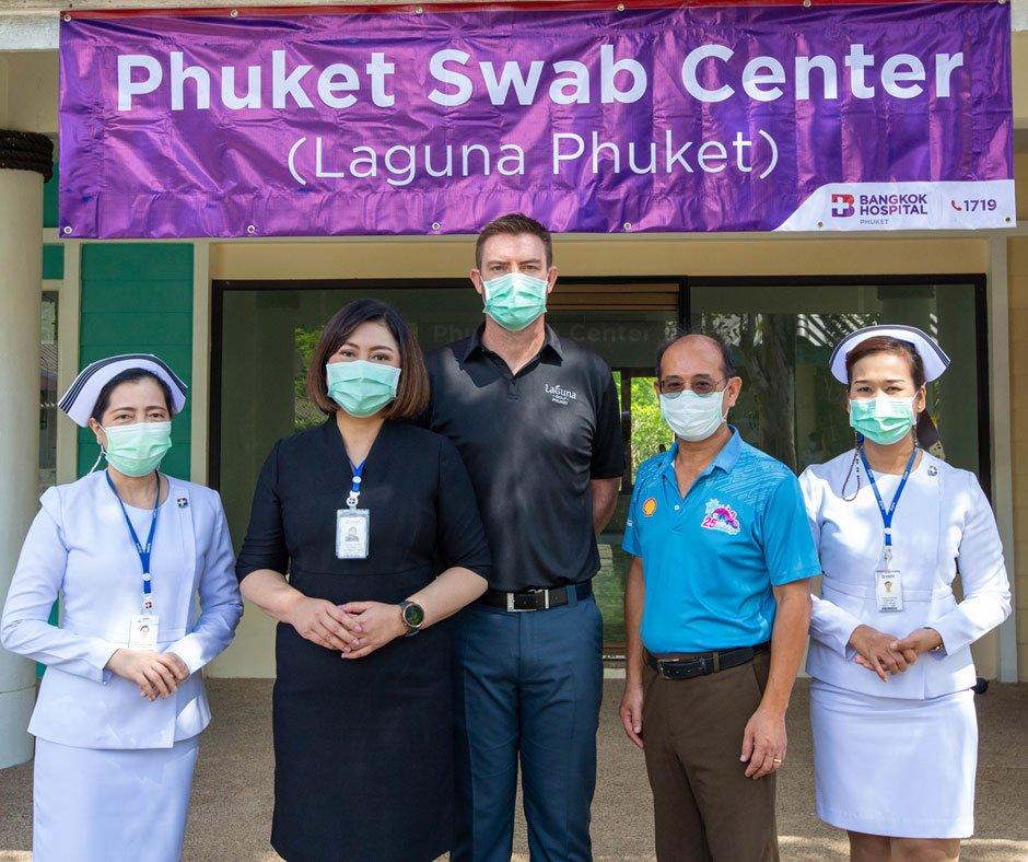Laguna Phuket launch first hotel-based PCR test centre for Phuket Sandbox