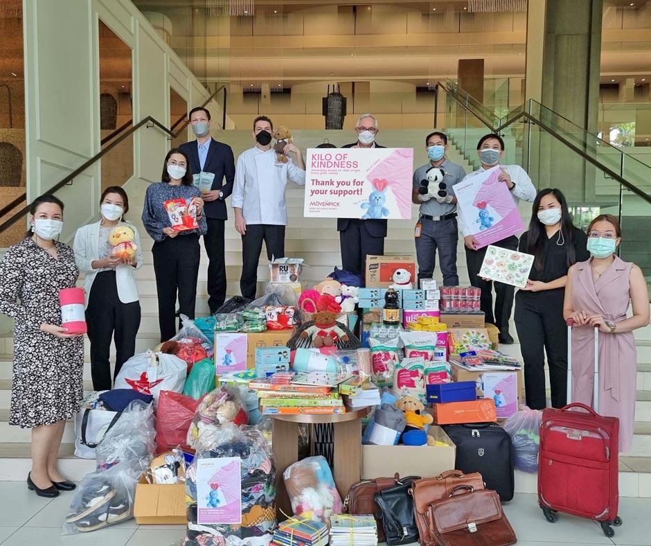 Mövenpick BDMS Wellness Resort Bangkok raises a #KiloOfKindness in September with major CSR campaign